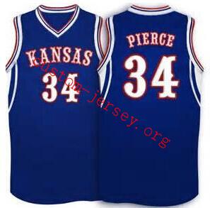 Paul Pierce Kansas Jayhawks BASKETBALL JERSEY