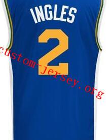 sneakers for cheap 302a3 87c51 2015-16 New Season #2 Joe Ingles basketball jersey,blue,white