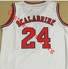 #24 brian scalabrine jersey white
