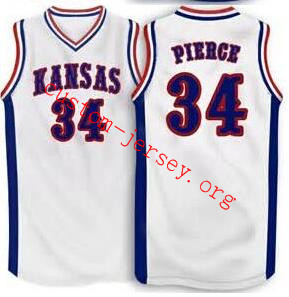 size 40 14eee bb86d Paul Pierce Kansas Jayhawks BASKETBALL JERSEY