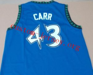 Chris Carr throwback basketball jersey