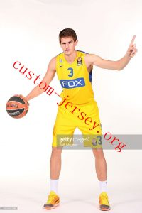 Custom Dragan Bender basketball jersey