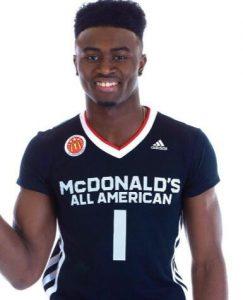 Jaylen Brown mcdonald's all american basketball jersey