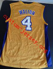 #4 Luke Walton jersey purple,white, yellow