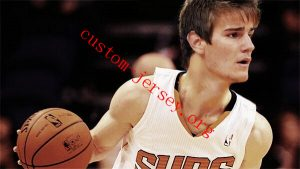 Custom suns Dragan Bender basketball jersey