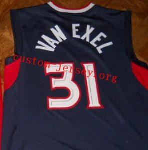 #31 Nick Van Exel atlanta throwback jersey