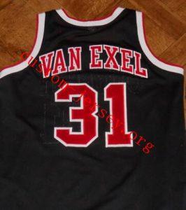 Nick Van Exel cincinnati basketball jersey