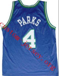 Vintage CHEROKEE PARKS jersey blue