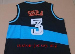#3 Bob Sura throwback jersey