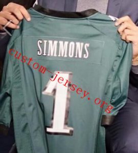 #1 Ben Simmons American football jersey