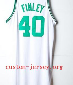 #4 Michael Finley basketball jersey