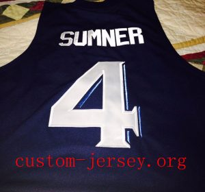 free shipping 8ae25 ca331 4 Edmond Sumner Xavier Musketeers BASKETBALL Jersey