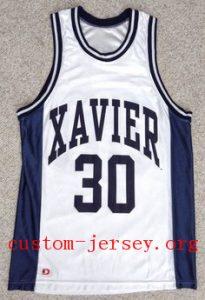 david west xavier jersey