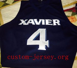 #4  Edmond Sumner Xavier Musketeers BASKETBALL Jersey