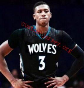 kris dunn minnesota timberwolves jersey