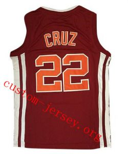 #22 Timo Cruz Richmond High Coach Carter Movie Basketball Stitched Jersey