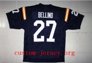 #27 JOE BELLINO NAVY JERSEY HEISMAN NAVY BLUE SEWN NEW