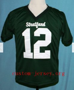 "#12 STAFFORD HIGH SCHOOL ""A. LUCK"" FOOTBALL JERSEY"