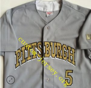 #5 Pitt Panthers Wilson NCAA Baseball Jersey