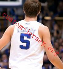 #5 Luke Kennard dunk basketball jersey blue,white,black