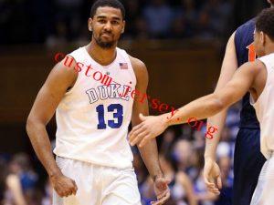 #13 Matt Jones duke basketball jersey black,blue,white