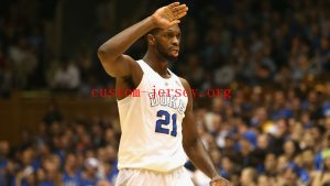 #21 Amile Jefferson duke jersey blue,white,black
