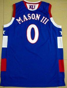 Frank Mason Kansas jersey