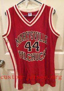 Marysville Pilchuck Washington High School Basketball  jersey