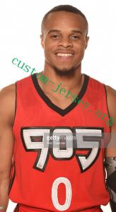 #0 John Jordan 905 basketball jersey red