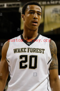 john collins wake forest jersey