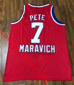 pete maravich schick nba legends jersey