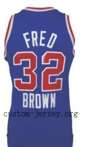 Fred Brown Schick Legends jersey