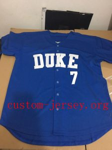 the best attitude d7aeb 981cc Marcus Stroman Duke Jersey | Custom Jersey - Cheap ...