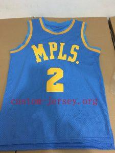 Lonzo Ball MPLS jersey