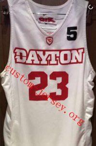 Westerfield Dayton Basketball jersey