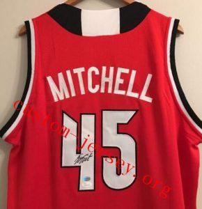 buy popular 15a5b 95e87 Donovan Mitchell Jersey | Custom Jersey - Cheap Customized ...