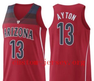 outlet store 22908 047ad 13 DeAndre Ayton Arizona Wildcats jersey white,red and black ...