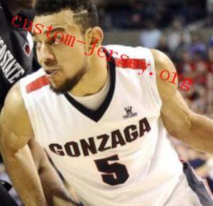 Alex Martin Gonzaga Bulldogs Basketball Jersey-Navy